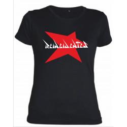 Camiseta estrella mujer