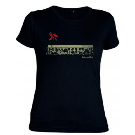 Camiseta Tren mujer