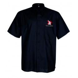 Camisa manga corta bordada