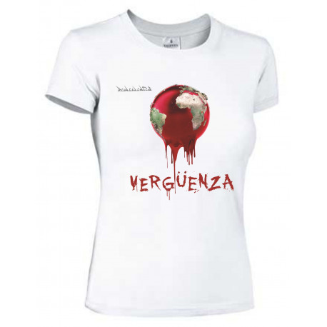 Camiseta Vergüenza mujer